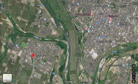新十津川駅 グーグルマップ2