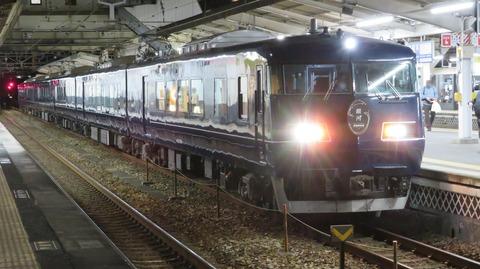 倉敷駅で 「WEST EXPRESS 銀河」 大阪行きを撮る (車両&発車標) 【2020年12月】