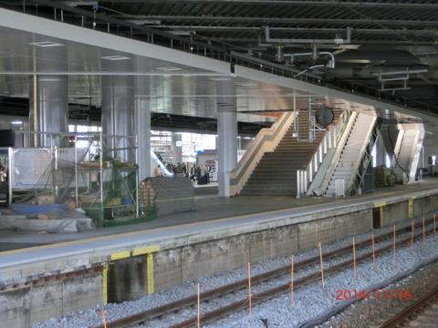 新大阪駅の新13・14番のりば、使用開始は2015年1月18日(日)!JR西日本から公式発表!