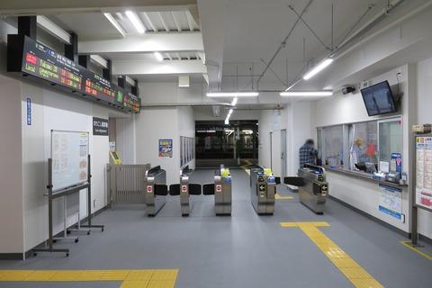 米子駅で仮駅舎&閉鎖された旧駅舎を撮る (2020年10月)