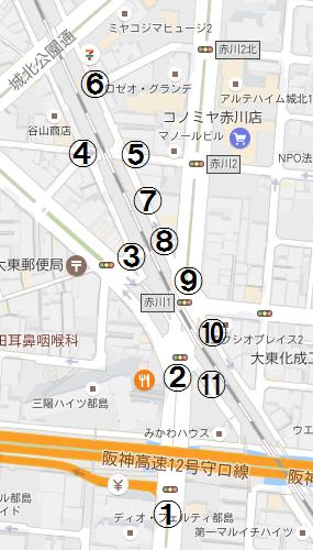 JR都島駅 2016