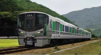 【JR西日本】 和歌山線・桜井線に新型車両 「227系」 を導入へ! 105系・117系を置き換え! 2019年春から順次投入!