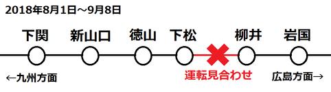 下松行き(下関~岩国)