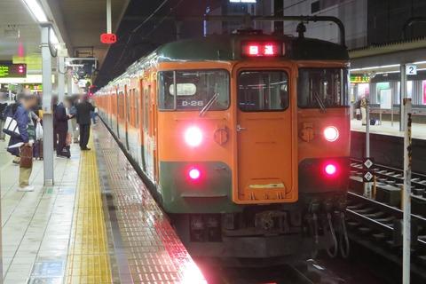 【岡山地区】 湘南色の115系、2本つないで6両で運転!(姫路駅にて) 【2021年3月】