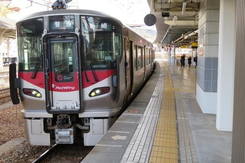 福山駅・尾道駅で 広島地区の新型車両・227系を撮る