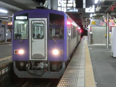 加茂駅で 「柘植行き」 の表示を撮る 【2018年1月】