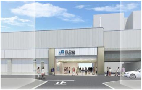野江駅(仮称:JR西日本公式ホームページより)