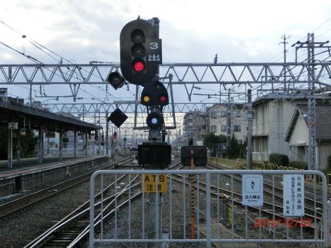 【阪和線】 鳳駅の折り返し設備が使用開始!和歌山方面への折り返しが可能に! (2013年12月)