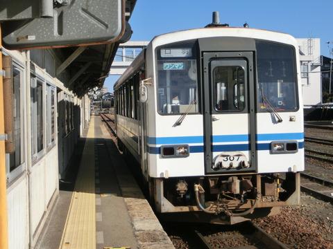三次駅でキハ120形車両を撮る (口羽行き・府中行き・備後落合行き)