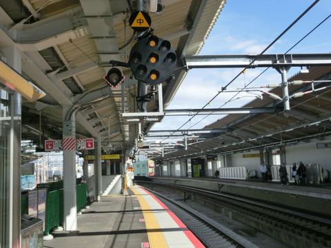 鴫野駅の3番のりばが使用開始!!!(2018年5月20日) 【Part1】