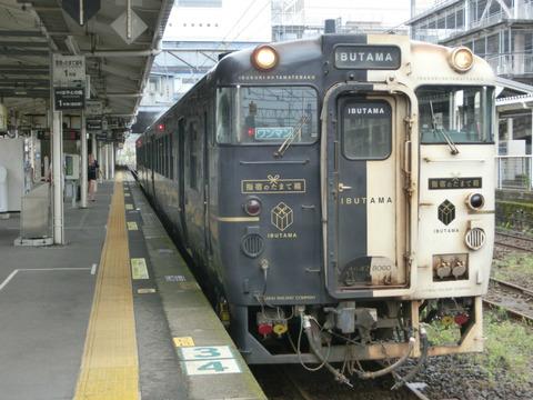 鹿児島中央駅で 特急 「指宿のたまて箱」 を撮る(2019年6月)