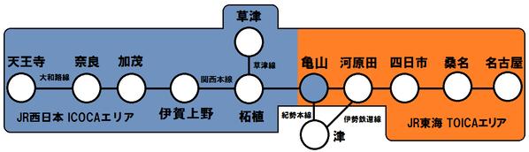 関西線(2021年3月13日~)