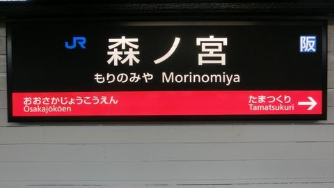 三ノ宮、森ノ宮など・・・JR西日本で  「ノ」 が入っている駅名一覧  【まとめ】