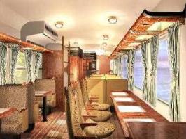 呉線・山陽線の新たな観光列車(内観)