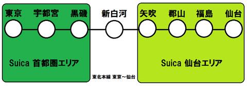 東北地方でSuica・PASMOなどのICカードが使えない鉄道路線 【まとめ】