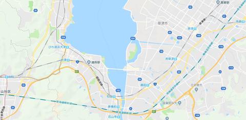 琵琶湖線 草津~山科