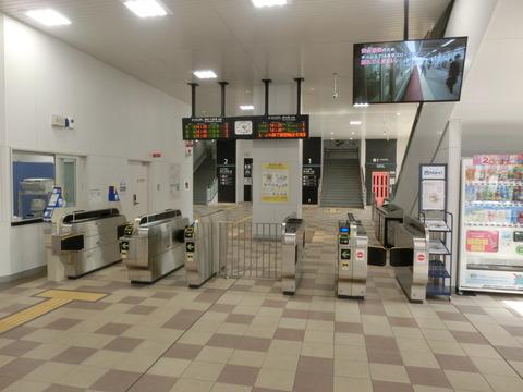 おおさか東線 JR淡路駅 開業後の様子 (2019年4月)
