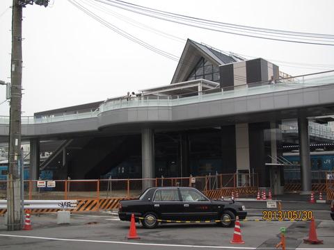 和泉府中駅の新駅舎がついに供用開始!!!【東口編】