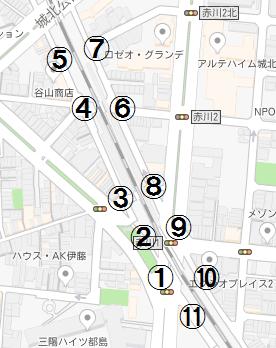 JR都島駅(仮称) 地図