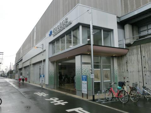 おおさか東線 城北公園通駅 開業後の様子 (2019年3月17日)