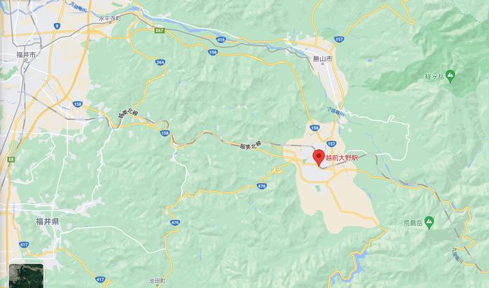 福井~九頭竜湖