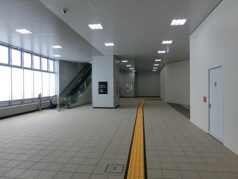 鴫野駅の新ホームが使用開始!!!(2015年4月) 【Part1】