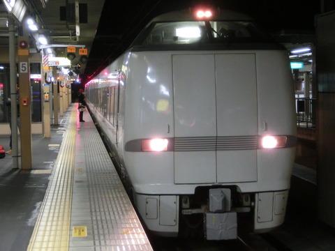 城崎温泉駅・福知山駅で289系(元 「しらさぎ」 車両683系)を撮る