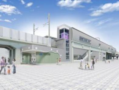 梅小路京都西駅  イメージ(JR西日本 ニュースリリースより)