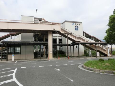 【駅紹介】 阿品駅 駅舎&改札口の様子(2017年8月)