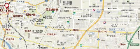 仙台市地下鉄東西線2