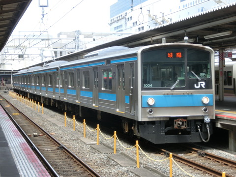 【JR奈良線】 京都駅で 元阪和線の205系&黄緑の103系を撮る(2018年5月)