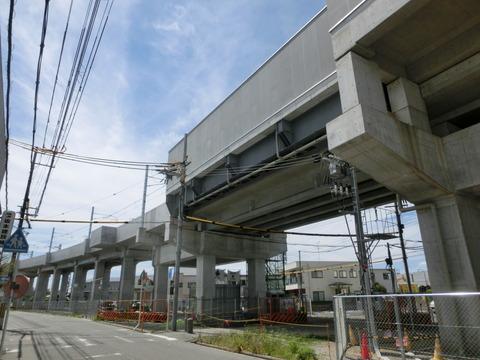 おおさか東線 南吹田駅 建設工事(2018年5月20日) 【Part2】
