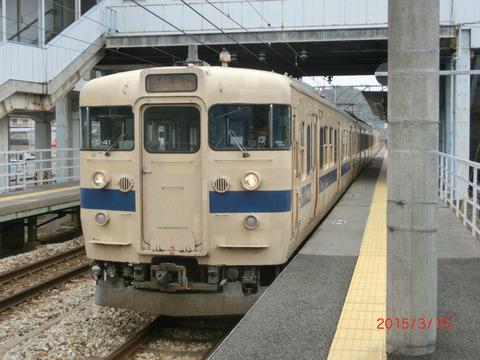 上道駅・高島駅・西川原駅に新しい発車標が設置される (2015年3月・4月)