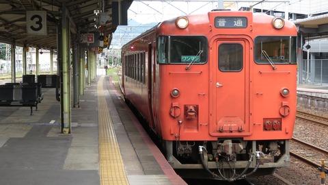 【岩徳線】 徳山駅と岩国駅でキハ40形 & 岩徳線ホームの発車標・駅名標を撮る (2021年9月)