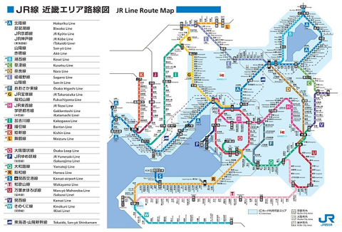 【JR西日本】 近畿エリア・広島エリアで変わる 「ラインカラー」。学研都市線は黄緑→ピンクに!?