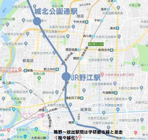 おおさか東線 2018年度版2