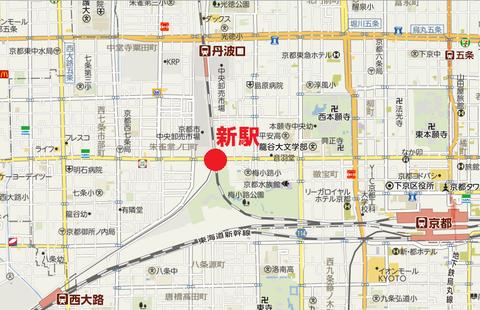 嵯峨野線新駅1