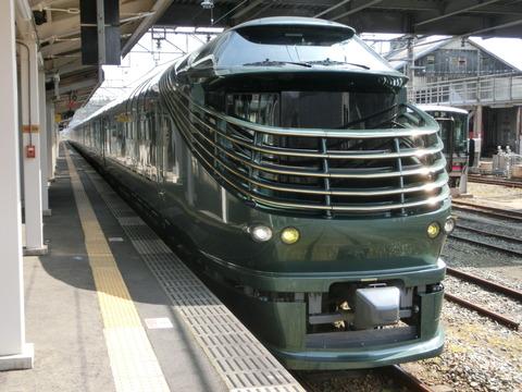 JR西日本の 「瑞風」、2020年4月の運転を全て取り止め。6月22日から11月末まで検査のため長期運休を予定。