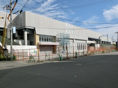おおさか東線 JR淡路駅 建設工事(2018年11月)