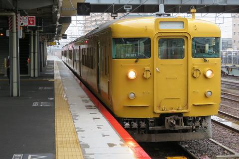 山陽線の普通列車、新山口駅と徳山駅での停車時間が長すぎる件。 日中に30分以上停車する列車も。
