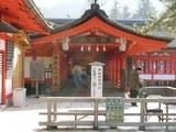 厳島神社玄関