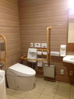 �なにわ一水 多目的トイレ