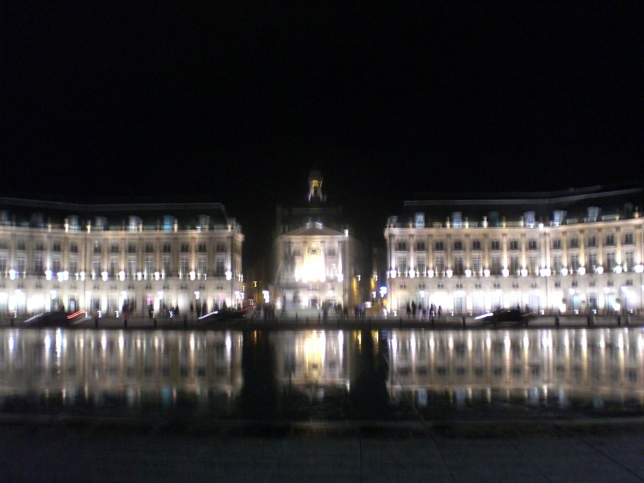 市庁舎 夜景