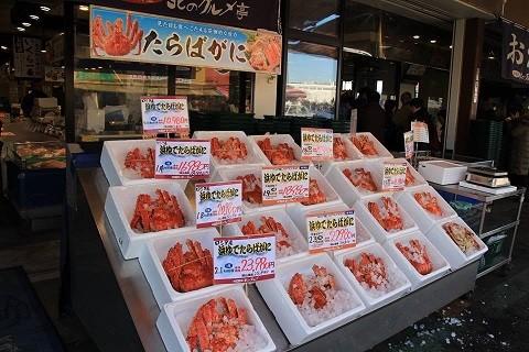 札幌市場外市場風景