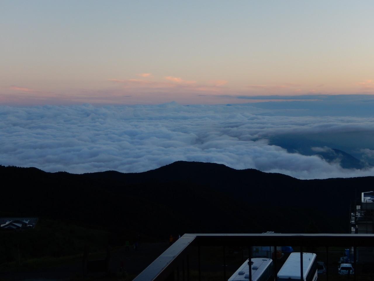 美しい雲海に感動!!