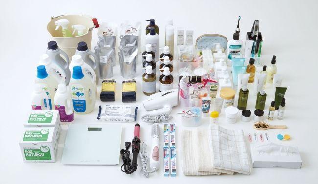 化粧台の収納物例