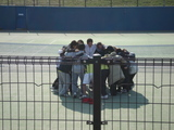 Aチーム円陣