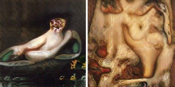 何千枚もの裸婦画を学習したAIの描いた作品がえちえちすぎると話題に