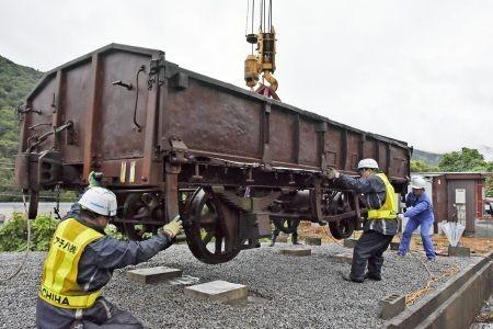 【福井】日本初の鋼製貨車「「ト20000形」が個人によって復元される。 あやうく解体されるところだった