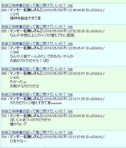 カミカゼ自作自演3